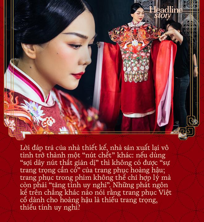 Khán giả gay gắt với phim cổ trang Việt: Chuyện không dừng ở khuy áo, phông chữ - Ảnh 14.