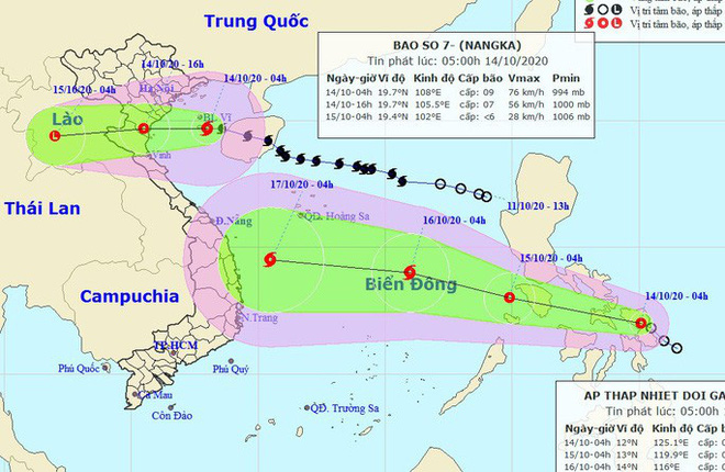Chiều nay, bão số 7 giật cấp 11 đi vào đất liền các tỉnh từ Thái Bình đến Nghệ An, gây mưa lớn diện rộng - Ảnh 1.