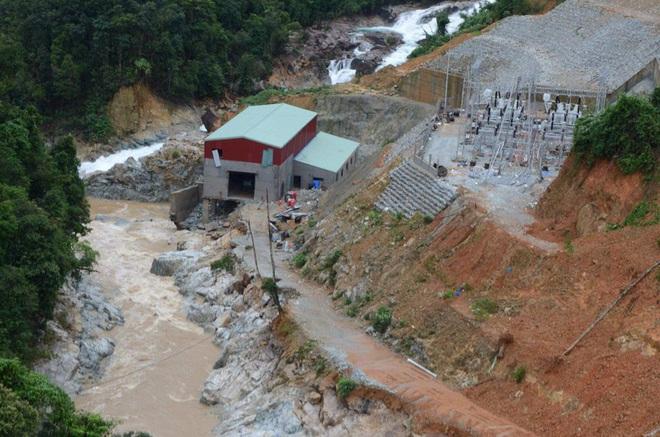 Sạt lở thủy điện Rào Trăng 3: Một số hình ảnh hiện trường thủy điện Rào Trăng 3 từ trên cao - Ảnh 3.