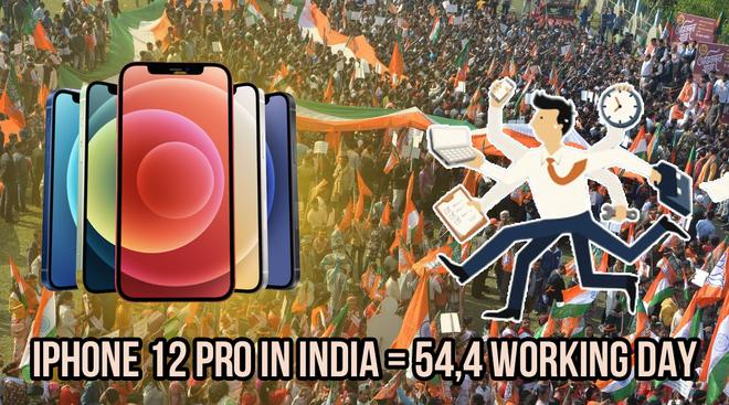 Người dân Thuỵ Sĩ chỉ cần 5 ngày làm việc là đủ tiền mua iPhone 12, còn Ấn Độ là gần 2 tháng - ảnh 3