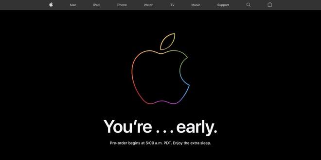 Trang chủ Apple đóng cửa trước giờ mở đặt trước iPhone 12 - ảnh 5