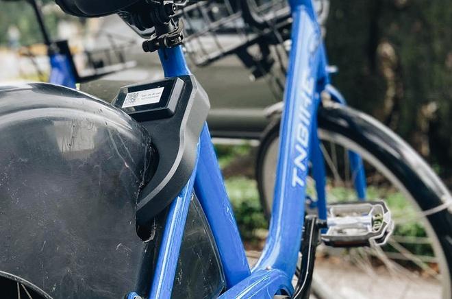 Trải nghiệm xe đạp công cộng cho thuê 10.000 đồng/giờ lần đầu lăn bánh trên đường phố Sài Gòn - ảnh 6