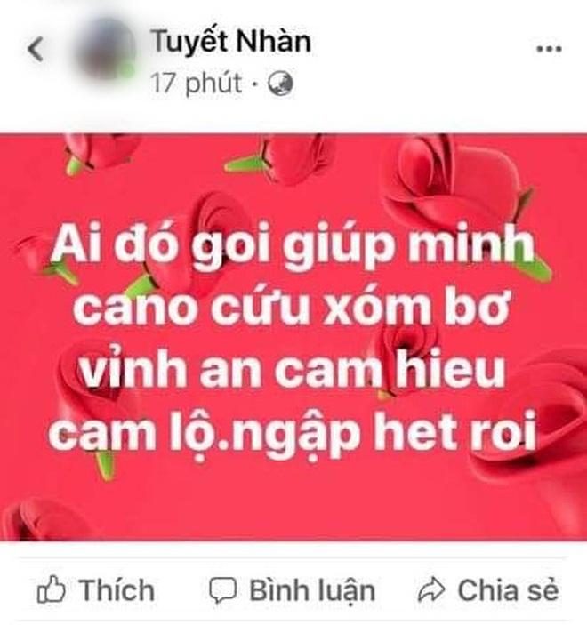 Nhiều người dân Quảng Trị đồng loạt lên mạng kêu cứu khi lũ bất ngờ lên nhanh trong đêm - ảnh 11