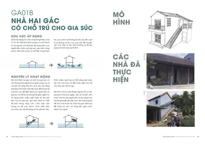 Một lần nữa, những căn nhà phao trong dự án Nhà Chống Lũ phát huy tác dụng tại Quảng Bình - ảnh 12