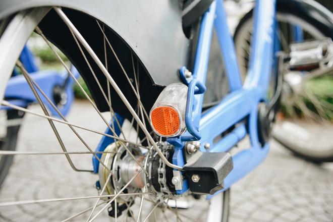 Trải nghiệm xe đạp công cộng cho thuê 10.000 đồng/giờ lần đầu lăn bánh trên đường phố Sài Gòn - ảnh 5