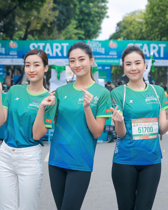 MC Mai Ngọc đọ sắc với 2 Hoa hậu, hơn cả chục tuổi mà ngoại hình chẳng chênh tí nào  - Ảnh 1.