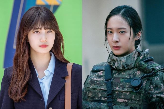 Phim mới của Suzy và Krystal tranh nhau top 1 tại Hàn, nữ trung úy hay gái xinh khởi nghiệp là gu của bạn? - ảnh 1