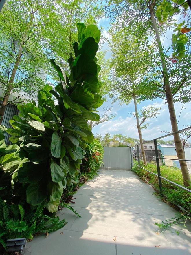Gái xinh khoe nhà rộng 1000m2 ngay trung tâm Sài Gòn, nhìn phòng tắm là đủ hiểu cơ ngơi hoành tráng đến mức nào - ảnh 10