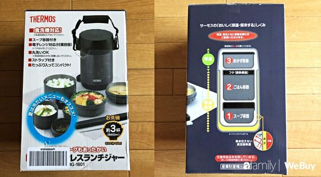 Review hộp cơm giữ nhiệt Thermos giá tiền triệu: Quả là đồ Nhật, giữ nhiệt tốt, thiết kế đẹp, chỉ có điều hao ví quá! - ảnh 3