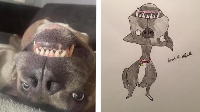 Vẽ chó mèo xấu như ma cấu nhưng vẫn bán được 150 triệu đồng, họa sĩ bèn đem đi từ thiện cho đỡ mang tiếng - ảnh 4