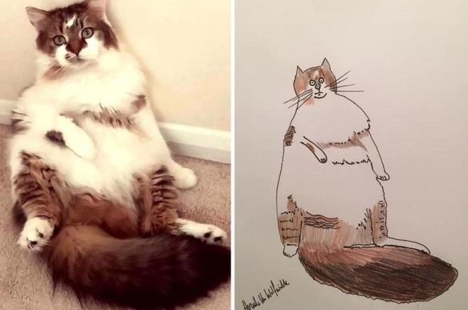 Vẽ chó mèo xấu như ma cấu nhưng vẫn bán được 150 triệu đồng, họa sĩ bèn đem đi từ thiện cho đỡ mang tiếng - ảnh 5