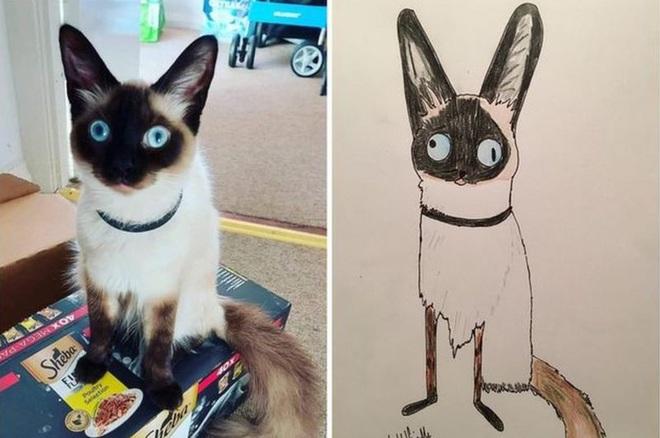 Vẽ chó mèo xấu như ma cấu nhưng vẫn bán được 150 triệu đồng, họa sĩ bèn đem đi từ thiện cho đỡ mang tiếng - ảnh 2
