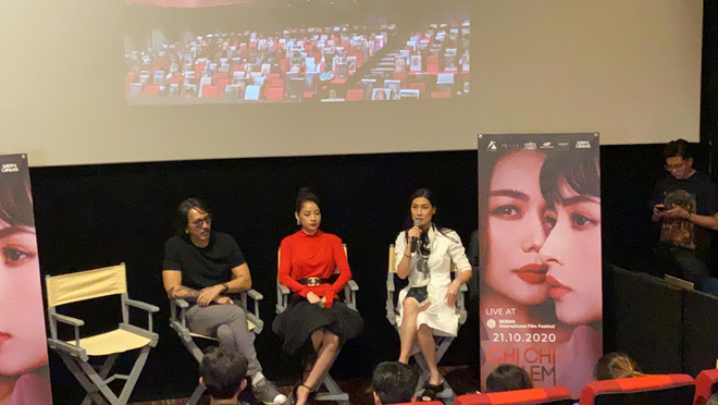 Sau 1 năm công chiếu, Chi Pu thừa nhận muốn yêu luôn Thanh Hằng trong Chị Chị Em Em đến Kathy Uyên cũng sốc - ảnh 1