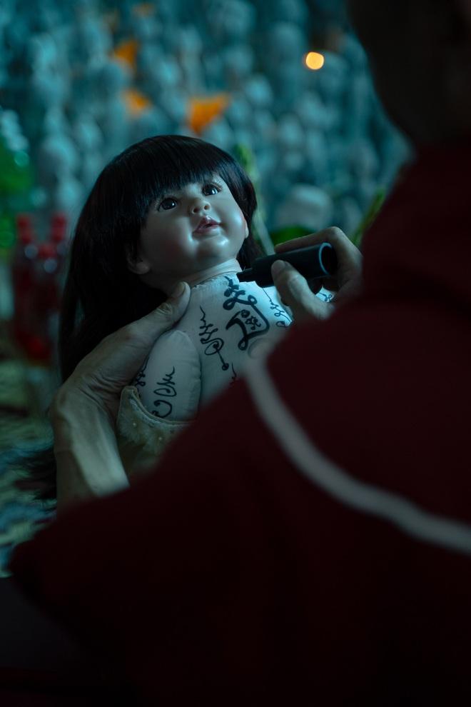 HOT: Salim ma mị xuất sắc, Trúc Anh bợt bạt vì điên cuồng nuôi búp bê ma Lukthep ở teaser Thiên Thần Hộ Mệnh - ảnh 11