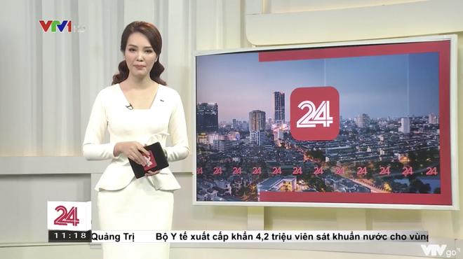 Á hậu Thụy Vân tái xuất dẫn bản tin trên sóng truyền hình sau tin đồn đã nghỉ việc tại VTV - ảnh 2
