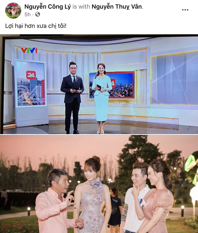 Á hậu Thụy Vân tái xuất dẫn bản tin trên sóng truyền hình sau tin đồn đã nghỉ việc tại VTV - ảnh 3
