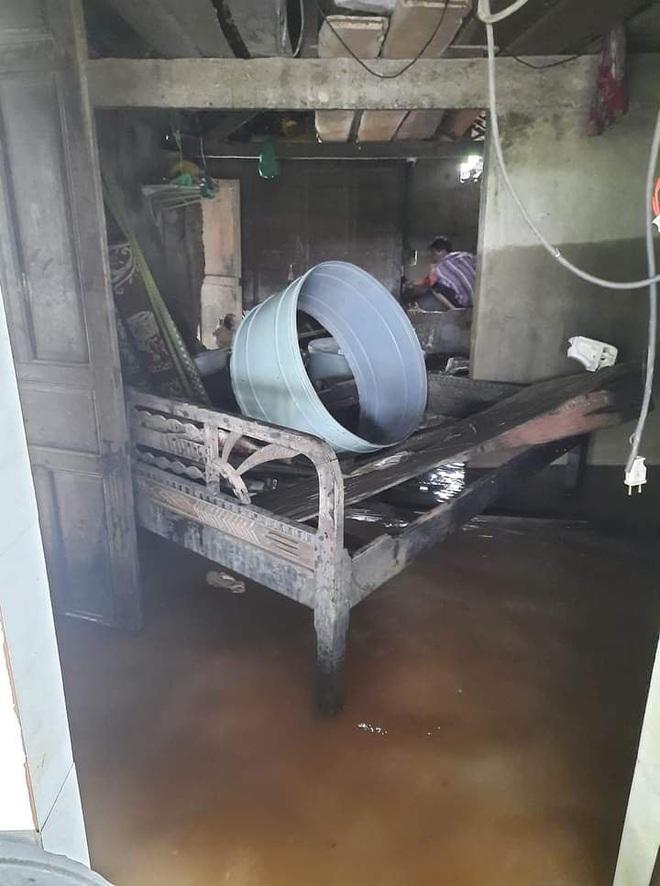 """Khung cảnh nhà cửa tan hoang sau trận """"đại hồng thuỷ"""" ở Quảng Bình: Tài sản bị ngâm nước nhầy nhụa bùn đất, thóc mọc mầm, vật nuôi ch.ế.t hàng loạt - Ảnh 8."""
