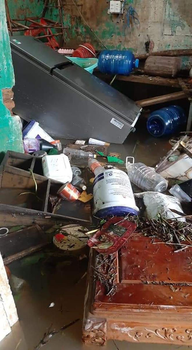 """Khung cảnh nhà cửa tan hoang sau trận """"đại hồng thuỷ"""" ở Quảng Bình: Tài sản bị ngâm nước nhầy nhụa bùn đất, thóc mọc mầm, vật nuôi ch.ế.t hàng loạt - Ảnh 3."""