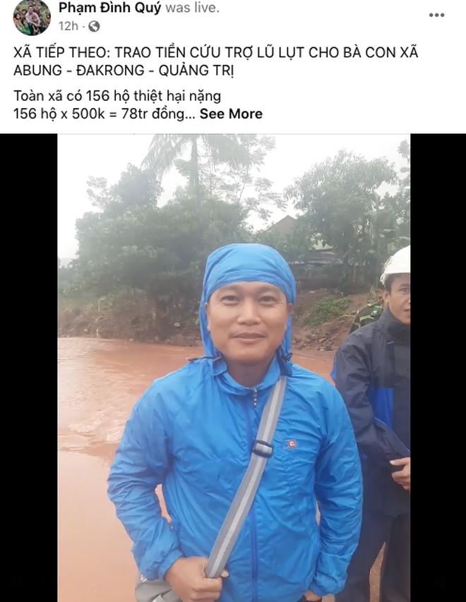 Kĩ sư Phạm Đình Quý chia sẻ từ kinh nghiệm cứu trợ người dân vùng lũ: Thủy Tiên kêu gọi rất tốt, thực hiện theo phương án của tôi là cực kỳ hợp lý lúc này - ảnh 4