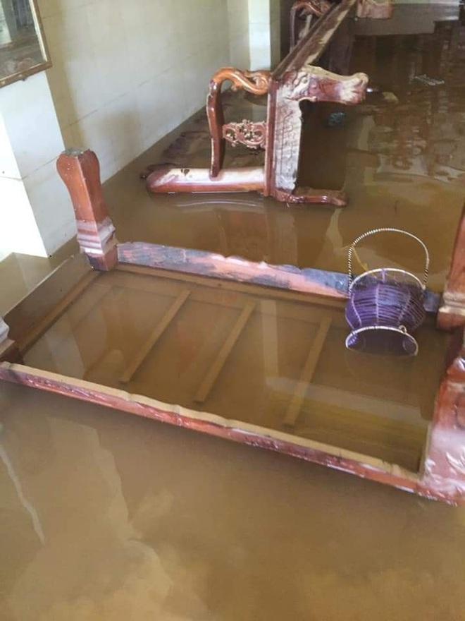 """Khung cảnh nhà cửa tan hoang sau trận """"đại hồng thuỷ"""" ở Quảng Bình: Tài sản bị ngâm nước nhầy nhụa bùn đất, thóc mọc mầm, vật nuôi ch.ế.t hàng loạt - Ảnh 1."""