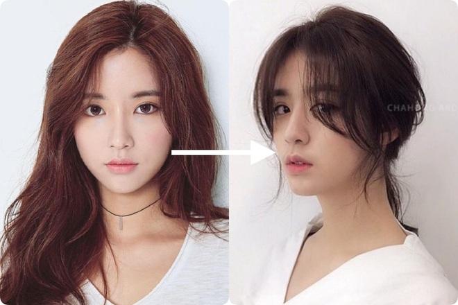Taeyeon và Hà Tăng lăng xê xu hướng tóc mái che mặt bánh bao, trán sân bay cực kỳ lợi hại - ảnh 9