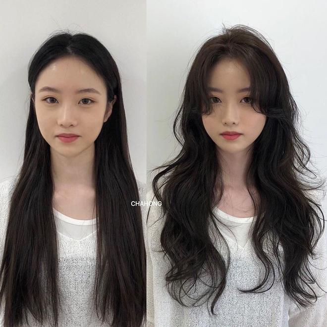 Taeyeon và Hà Tăng lăng xê xu hướng tóc mái che mặt bánh bao, trán sân bay cực kỳ lợi hại - ảnh 10