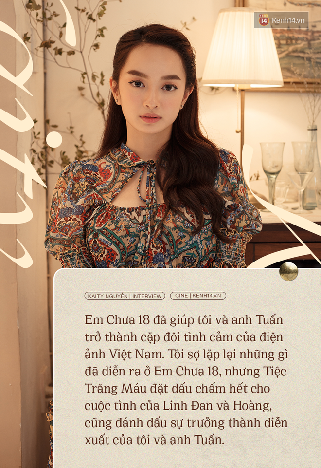 Kaity Nguyễn: Tiệc Trăng Máu đã đặt dấu chấm hết cho cuộc tình của tôi và Kiều Minh Tuấn ở Em Chưa 18! - ảnh 1