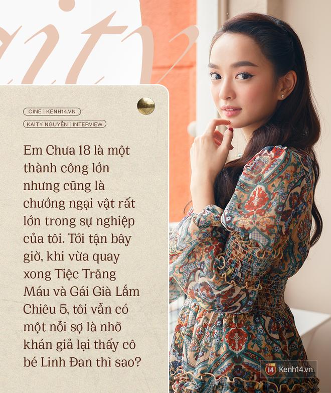 Kaity Nguyễn: Tiệc Trăng Máu đã đặt dấu chấm hết cho cuộc tình của tôi và Kiều Minh Tuấn ở Em Chưa 18! - ảnh 2
