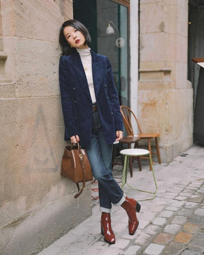 Công thức boots + quần với 3 chiêu nâng tầm 100% thời thượng cho các nàng mùa lạnh này - ảnh 7