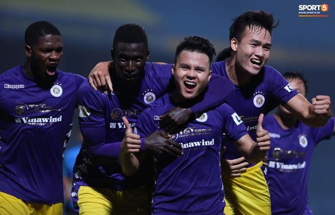 Quang Hải nổ súng phút cuối giải cứu Hà Nội FC, ăn mừng vỡ oà như đoạt chức vô địch - ảnh 10