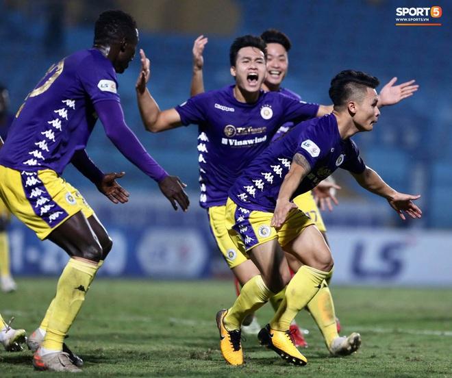 Quang Hải nổ súng phút cuối giải cứu Hà Nội FC, ăn mừng vỡ oà như đoạt chức vô địch - ảnh 4
