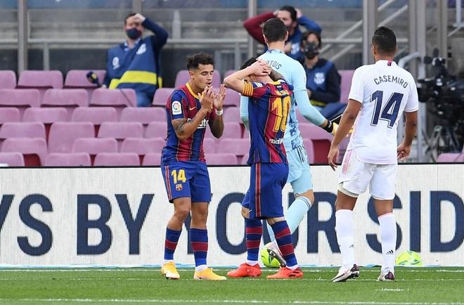 Messi cùng Barcelona thất thủ ngay trên sân nhà trước Real Madrid ở trận Siêu kinh điển - ảnh 4