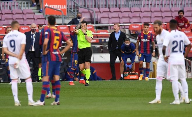 Messi cùng Barcelona thất thủ ngay trên sân nhà trước Real Madrid ở trận Siêu kinh điển - ảnh 5