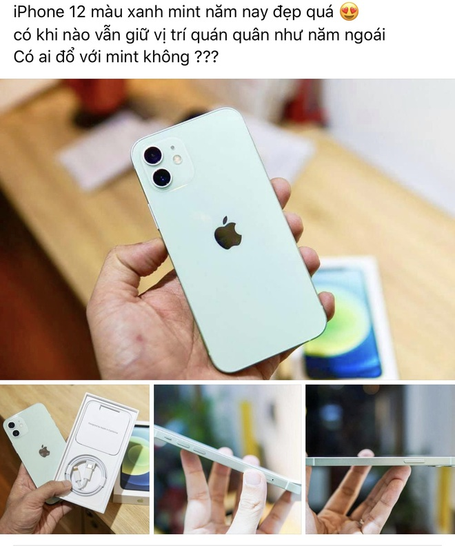"""Ngắm iPhone 12 """"xanh mint"""" đang rất được lòng iFan trên toàn thế giới - Ảnh 4."""