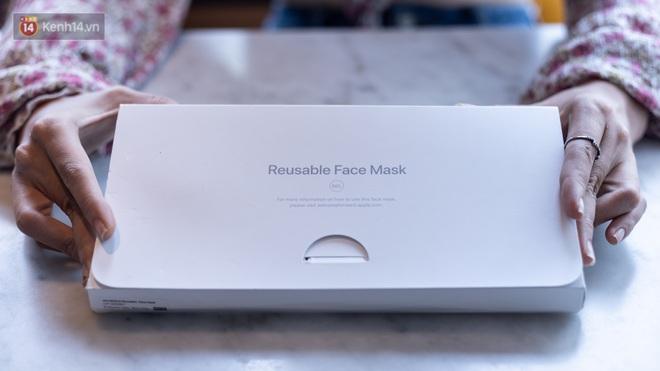 Mở hộp, trải nghiệm khẩu trang Apple hàng limited tại Việt Nam - ảnh 1
