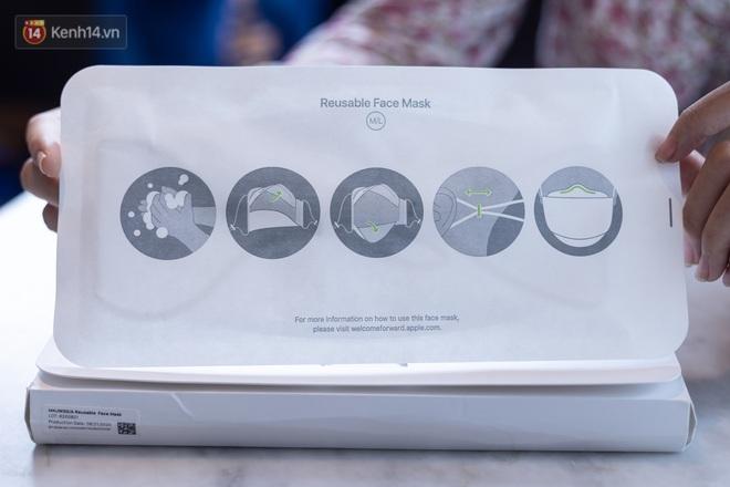 Mở hộp, trải nghiệm khẩu trang Apple hàng limited tại Việt Nam - ảnh 3