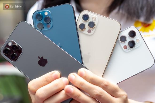 Ngắm trọn bộ iPhone 12 Pro đầy đủ 4 màu sắc vừa về Việt Nam - Ảnh 1.