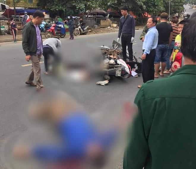 CLIP: Nam thanh niên phóng xe máy vun vút, lấn làn tông chết người đàn ông đi xe máy - ảnh 1