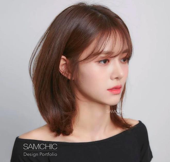 Kiểu tóc mái dành cho những nàng có lông mày vừa thưa vừa ngắn một mẩu - ảnh 6