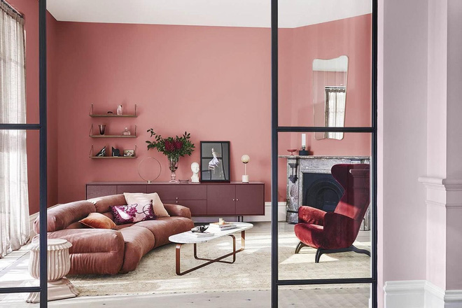 Trang trí phòng của bạn bằng màu đơn sắc
