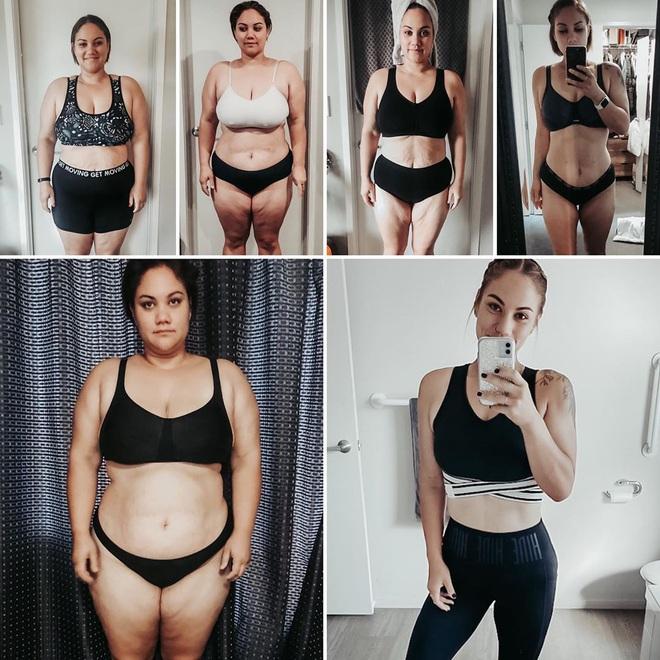 Từng béo đến nỗi không chọn được váy cưới phù hợp, cô dâu 30 tuổi giảm một lèo 50kg khiến dân tình phải kinh ngạc - Ảnh 2.