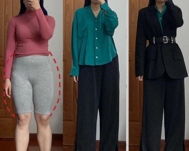 7 cách lên đồ che khéo phần bụng dưới đẫy đà, dáng cũng cao thon hơn 5cm là ít - ảnh 3