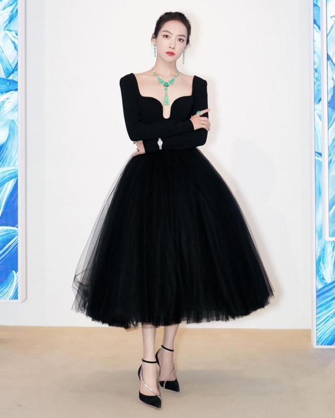 Sao nữ trên thảm đỏ tuần qua: Váy đen dễ mặc là thế nhưng Tống Thiến vẫn bị réo tên - ảnh 7