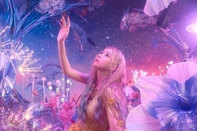 SM tung ảnh thành viên đầu tiên của nhóm nữ mới: Có nét giống Taeyeon (SNSD), nhìn tên mà tưởng theo concept… xuân hạ thu đông? - ảnh 4
