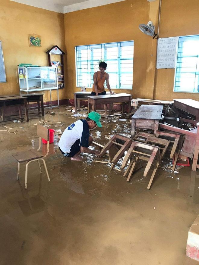Đăng Khôi hỗ trợ tiền, xây dựng hệ thống nước sạch cho 4 điểm trường chịu ảnh hưởng nặng nề bởi bão lũ ở Huế - ảnh 3