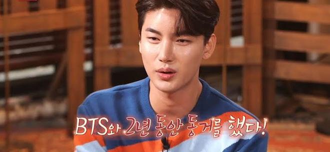 Fan bất ngờ khi một ca sĩ nhạc Trot tiết lộ là thành viên hụt của BTS - ảnh 1