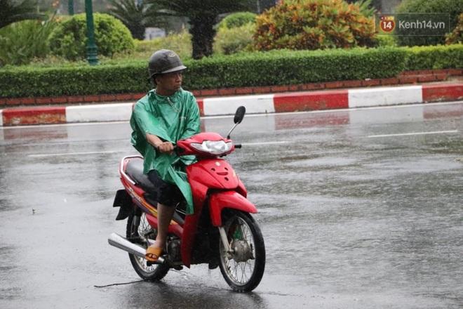 Bão số 9 sắp đổ bộ: Gió giật mạnh ở Quảng Ngãi, đã có nhà bị tốc mái; phong toả một phần Quốc lộ 1A khiến hàng trăm xe ùn tắc - Ảnh 5.
