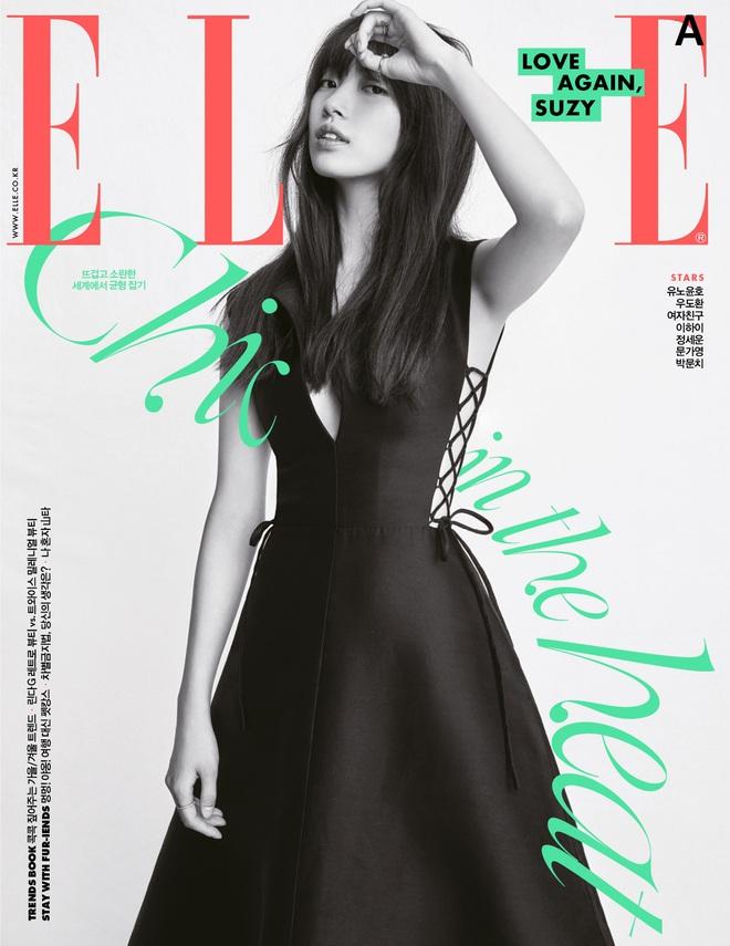 Váy Dior bị Suzy khâu tiệt để hở vừa vừa, Khánh Linh chơi lớn diện luôn bản gốc xẻ ngực sâu hoắm - ảnh 1