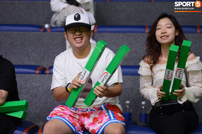 Bất chấp khoảng cách địa lí, rapper Phương Kào (Da LAB) vẫn đến xem giải bóng rổ Việt Nam vì Tâm Đinh - Ảnh 8.
