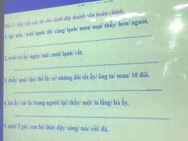 Bài tập hoàn thành câu Tiếng Việt siêu khó, đến người Việt cũng trầm cảm vì sai tới 90% - ảnh 1